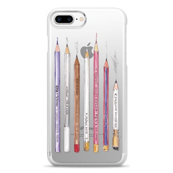 iPhone 7 Plus Cases - PENCILS TRANSPARENT