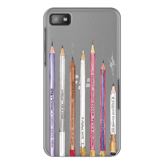 Blackberry Z10 Cases - PENCILS TRANSPARENT