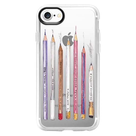 iPhone 7 Cases - PENCILS TRANSPARENT
