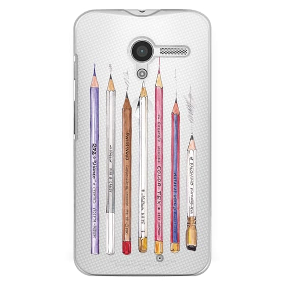Moto X Cases - PENCILS TRANSPARENT