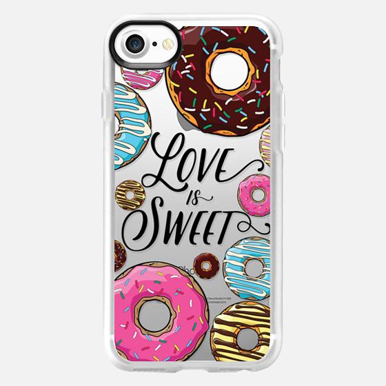 Love is Sweet - Donuts - Wallet Case