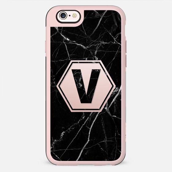 Black Marble - Monogram V - New Standard Case