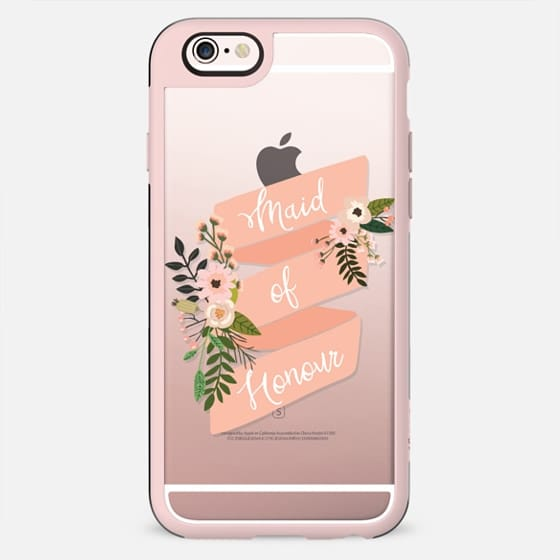 Maid of Honour Floral Banner - New Standard Case