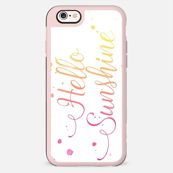 Ombre Watercolor Hello Sunshine - New Standard Case