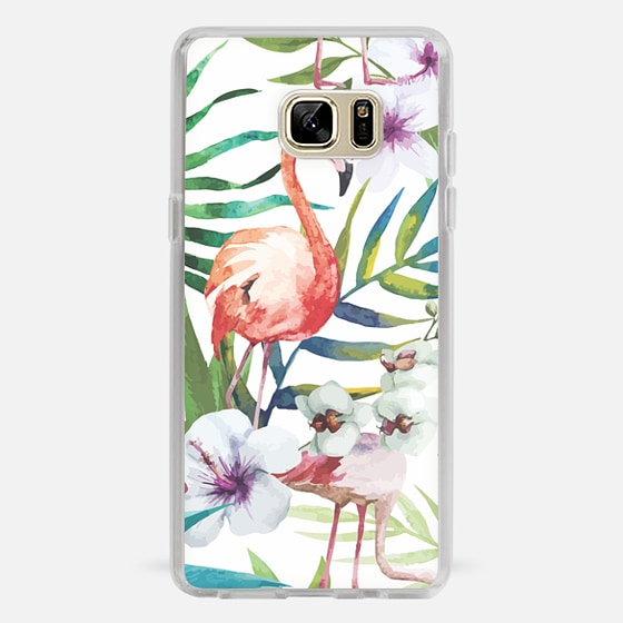 Galaxy Note 7 Case - Tropical Flamingo