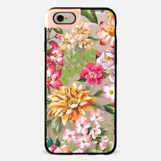 Tropical Florals - Transparent -