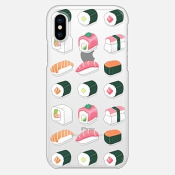 iPhone X Case Delicious Sushi