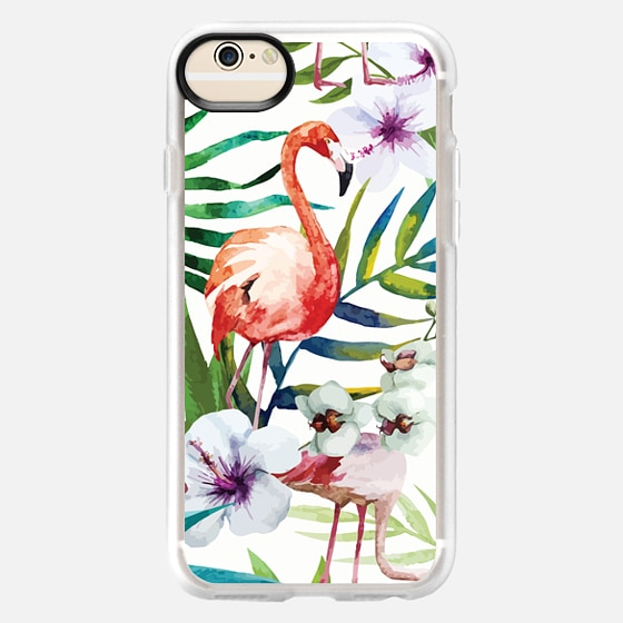iPhone 6 Case - Tropical Flamingo