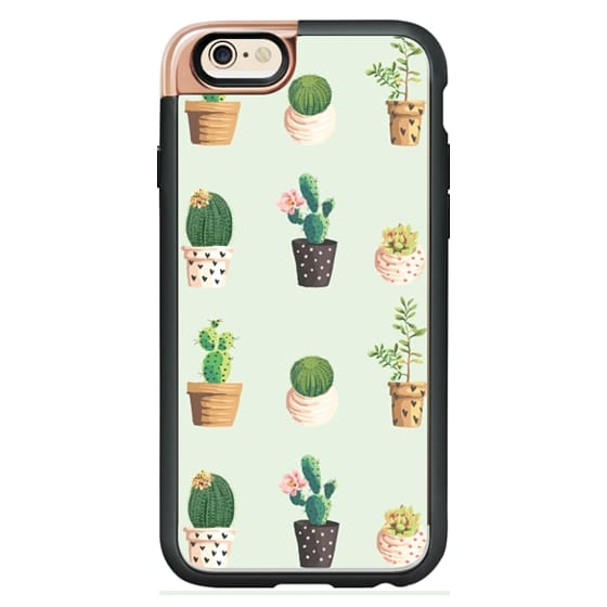 super popular 4dea6 3816e Wood iPhone 6 Case - Cactus and Succulent