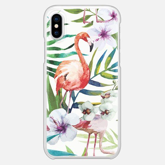 Tropical Flamingo - Classic Grip Case