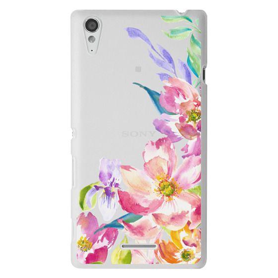 Bright Watercolor Floral Summer Garden