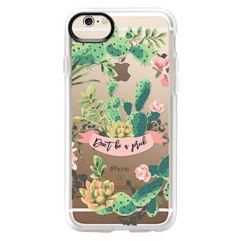 Grip iPhone 6 Case - Cactus Garden - Don't Be A Prick