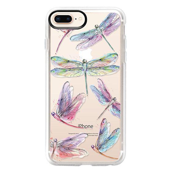Watercolor Dragonflies