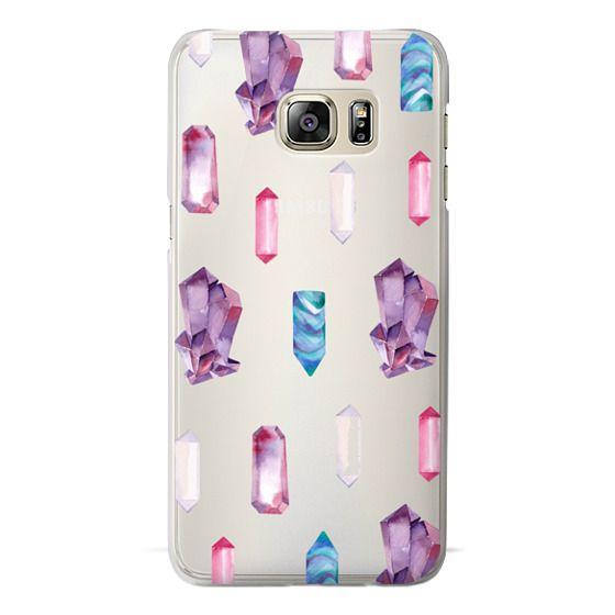 Samsung Galaxy S6 Edge Plus Cases - Watercolor Crystals