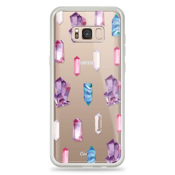 Samsung Galaxy S8 Plus Cases - Watercolor Crystals