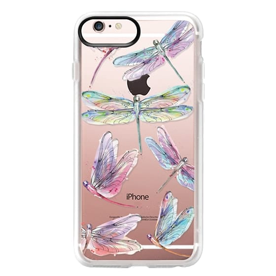 iPhone 6s Plus Cases - Watercolor Dragonflies