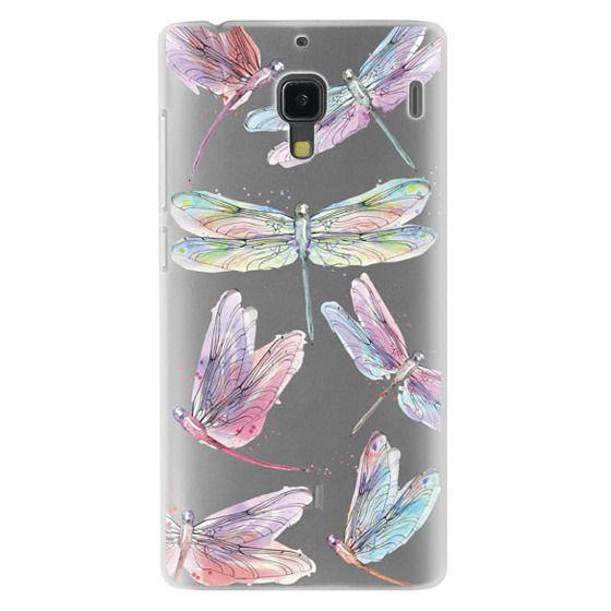 Redmi 1s Cases - Watercolor Dragonflies