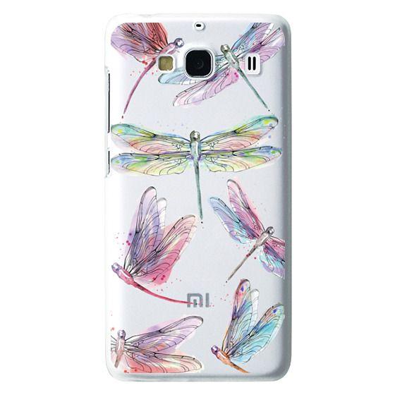 Redmi 2 Cases - Watercolor Dragonflies
