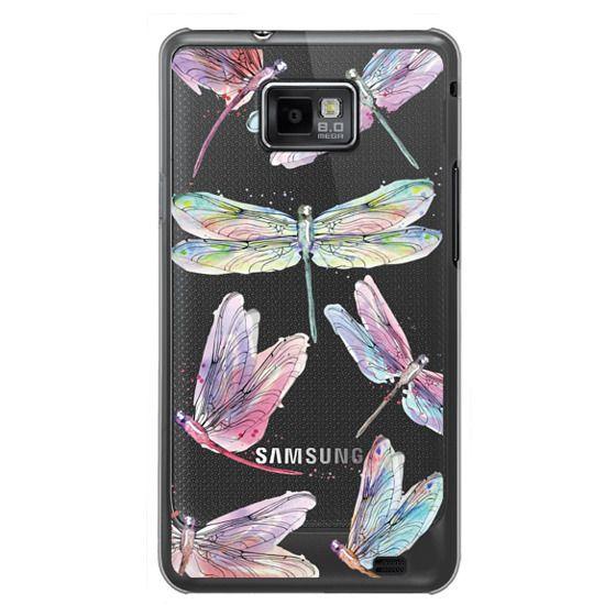 Samsung Galaxy S2 Cases - Watercolor Dragonflies