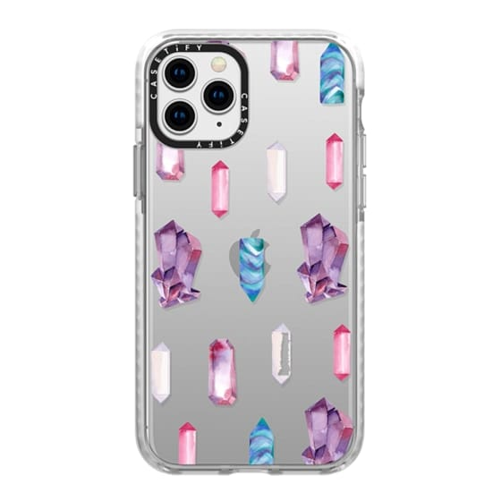 iPhone 11 Pro Cases - Watercolor Crystals