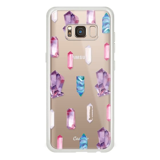 Samsung Galaxy S8 Cases - Watercolor Crystals