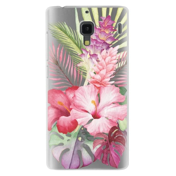 Redmi 1s Cases - Watercolor Tropical Pink Floral