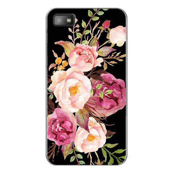 Blackberry Z10 Cases - Watercolour Floral Bouquet