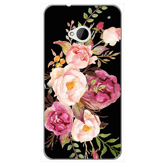 Htc One Cases - Watercolour Floral Bouquet