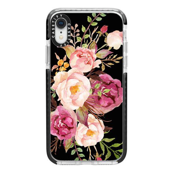 iPhone XR Cases - Watercolour Floral Bouquet