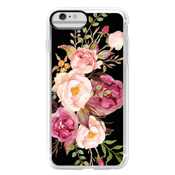 iPhone 6 Plus Cases - Watercolour Floral Bouquet