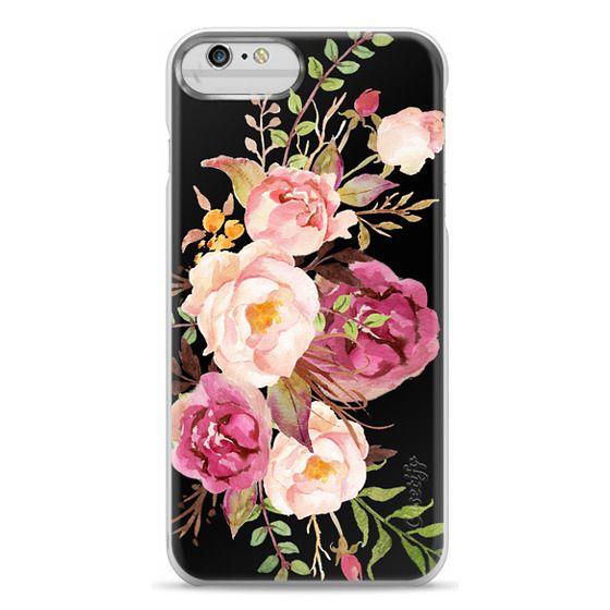 iPhone 6 Plus Cases - Watercolour Floral Bouquet