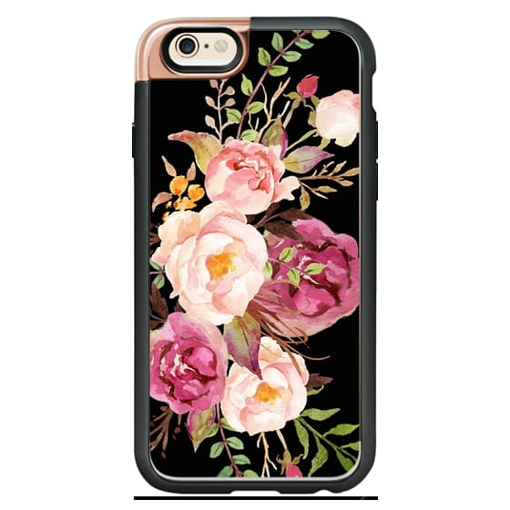 iPhone 4 Cases - Watercolour Floral Bouquet