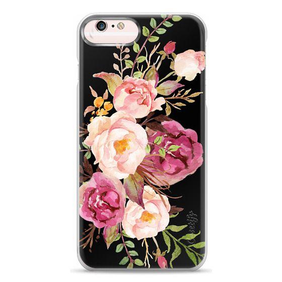 iPhone 6s Plus Cases - Watercolour Floral Bouquet