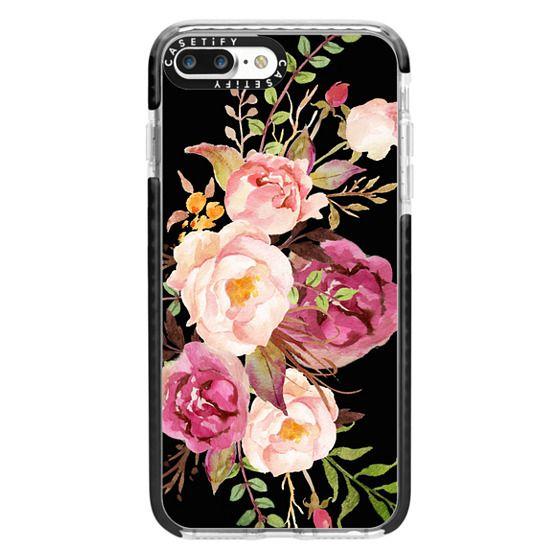 iPhone 7 Plus Cases - Watercolour Floral Bouquet