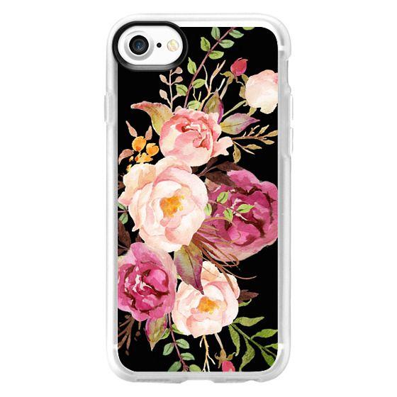iPhone 7 Cases - Watercolour Floral Bouquet