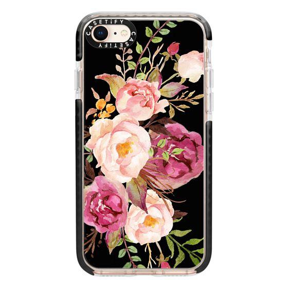 iPhone 8 Cases - Watercolour Floral Bouquet