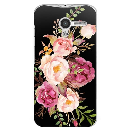Moto X Cases - Watercolour Floral Bouquet