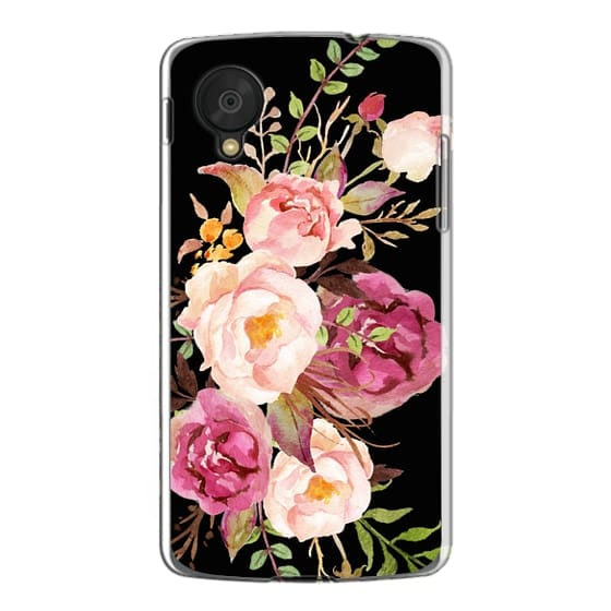 Nexus 5 Cases - Watercolour Floral Bouquet