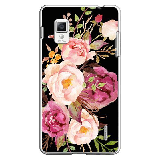 Optimus G Cases - Watercolour Floral Bouquet