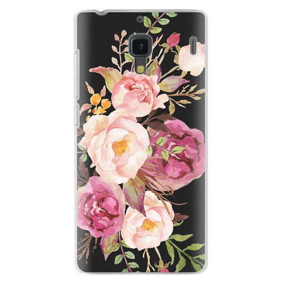 Redmi 1s Cases - Watercolour Floral Bouquet