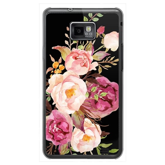 Samsung Galaxy S2 Cases - Watercolour Floral Bouquet