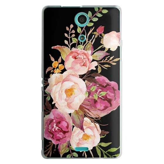 Sony Zr Cases - Watercolour Floral Bouquet