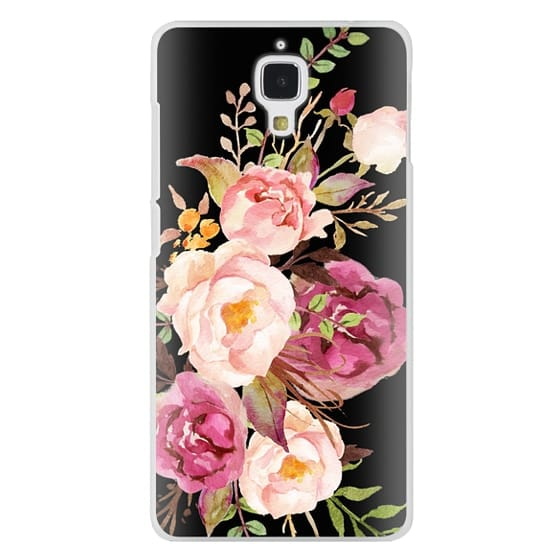 Xiaomi 4 Cases - Watercolour Floral Bouquet