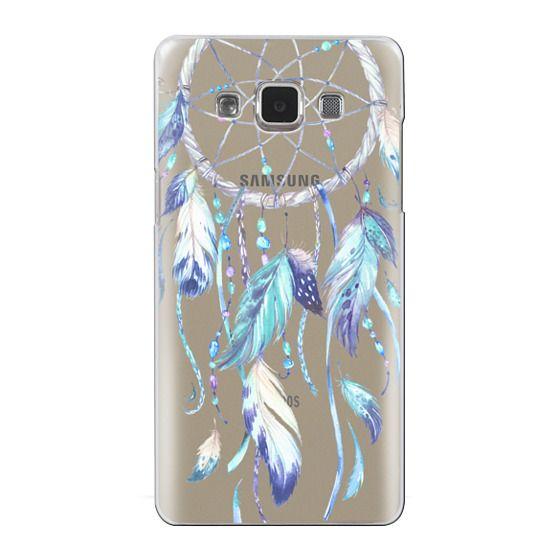 Samsung Galaxy A5 Cases - Watercolor Blue Dreamcatcher Feather Dream Catcher