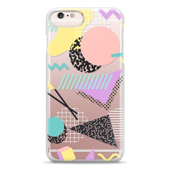 iPhone 6s Plus Cases - Pastel Geometric Memphis Pattern