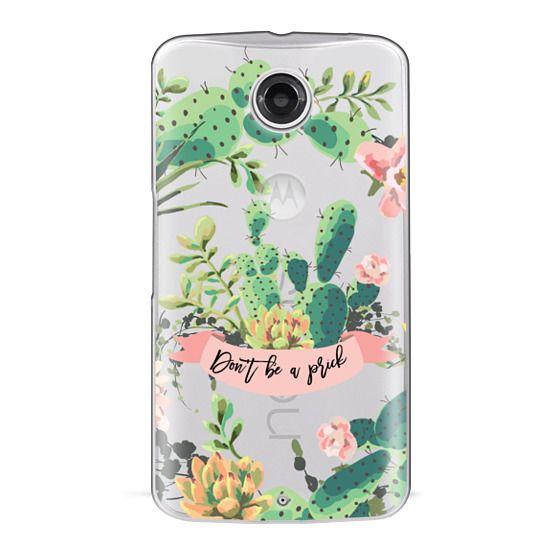Nexus 6 Cases - Cactus Garden - Don't Be A Prick