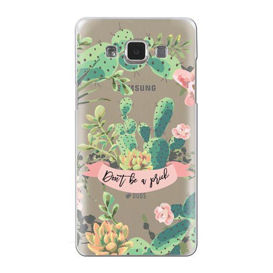 Samsung Galaxy A5 Cases - Cactus Garden - Don't Be A Prick
