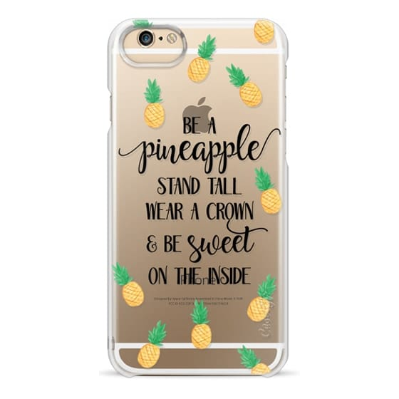 iPhone 6 Cases - Be a Pineapple - Watercolor Pineapples
