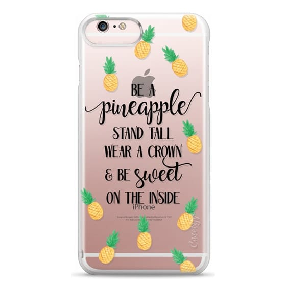 iPhone 6s Plus Cases - Be a Pineapple - Watercolor Pineapples