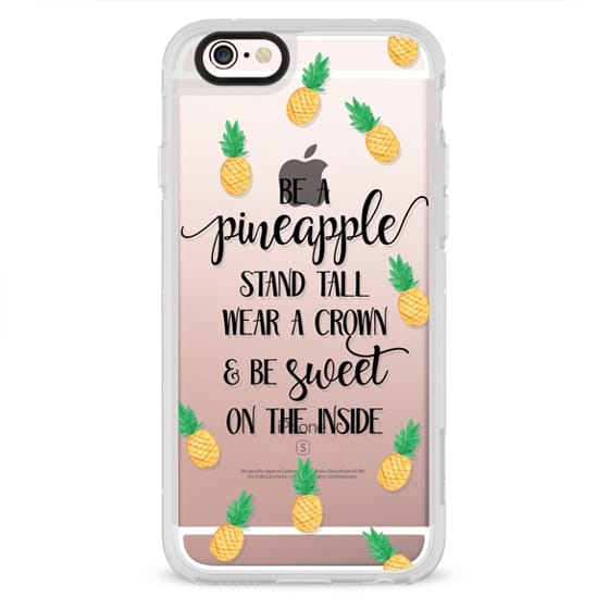 iPhone 6s Cases - Be a Pineapple - Watercolor Pineapples